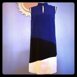 NEW Canvas by Land's End Colorblock Dress Size 4
